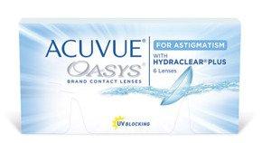 Soczewki Acuvue Oasys for Astigmatism 6szt.